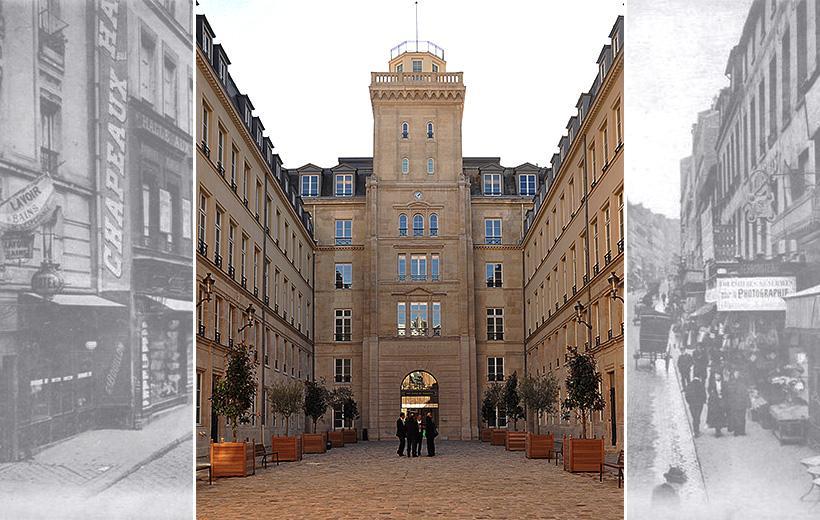 La tour du télégraphe du Chappe, 103 rue de Grenelle, abrita le ministère des Postes et Télégraphes jusqu'en 1960.