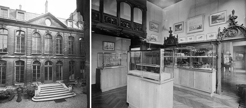 Hôtel de Choiseul-Praslin, vues de l'extérieur et des salles du musée.